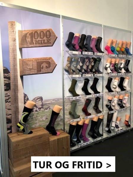 For å kunne sikre turen eller opplevelsen din - Velge de coole 1000 Mile sokkene Her.