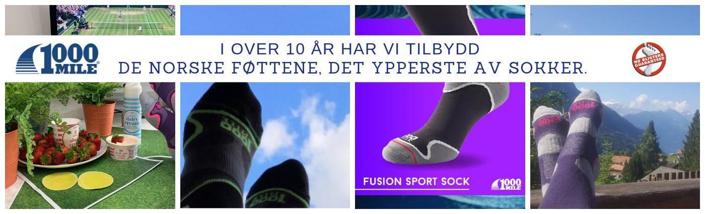 """""""Fusion Athletic Sock - Sokker for atleter"""""""