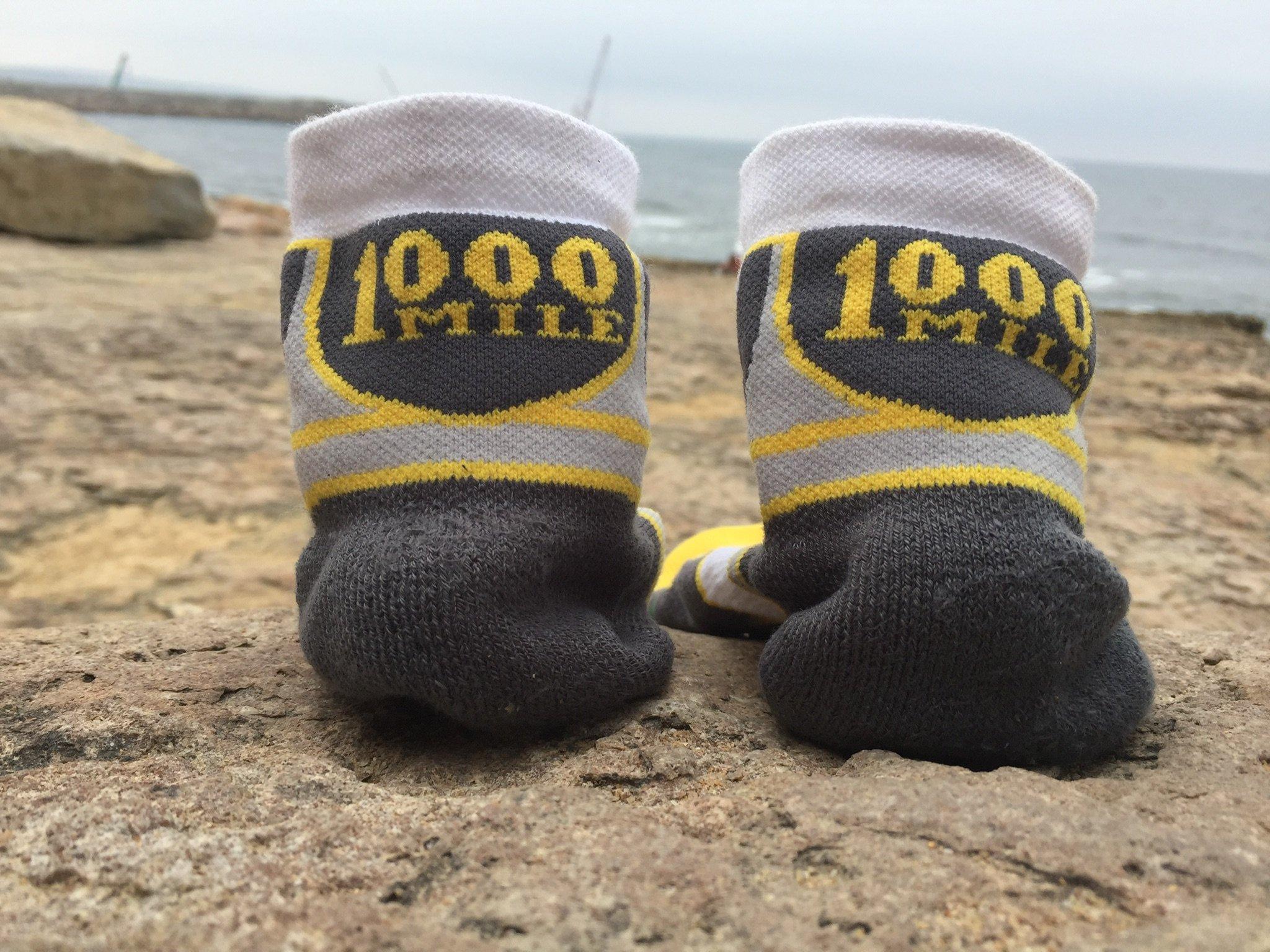 1000 MILE CROSS SPORT SOCK