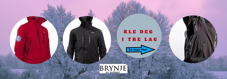 Prøv vår nye Expedition Skald Jakke - En solid kraftig jakke fra Brynje of Norway