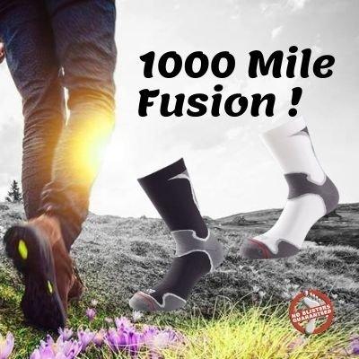 1000 MILE FUSION ATHLETIC SOKK