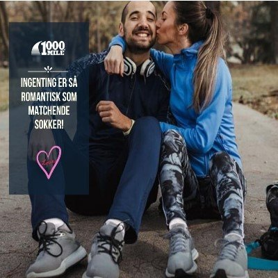 1000 Mile Run Anklet - Twin Pack