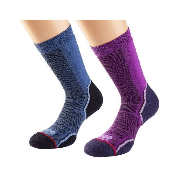 1000 Mile TREK Sock Twin Pack