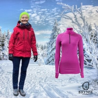 BRYNJE EXPEDITION JAKKE & ARCTIC Zip-Polo - Feminint snitt.