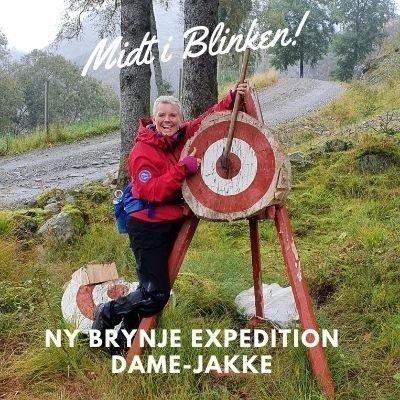 Brynje Expedition Dame Jakke - Designet med eget feminint snitt