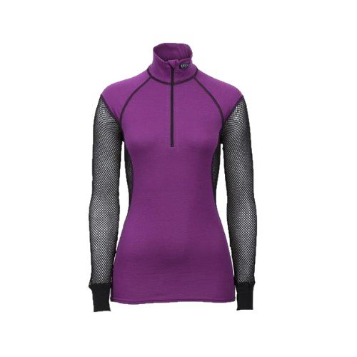 Brynje WOOL THERMO LADY ZIP-POLO