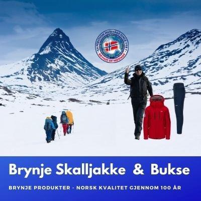 BRYNJE EXPEDITION JAKKE & HIKING BUKSE - Unisex Størrelser.